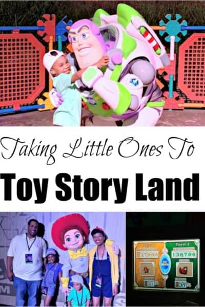 Wonder what it's like taking little ones to Toy Story Land? This post shares when attractions they can ride, and what meet-and-greets they MUST do.