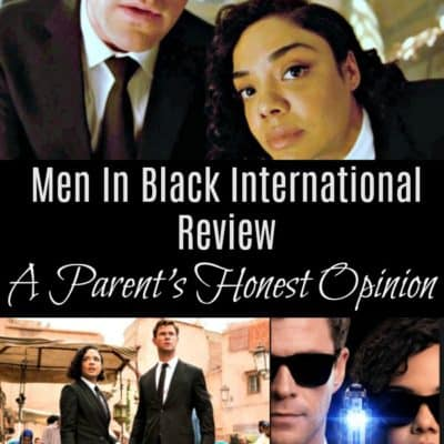 This Men In Black International review shares a parent's honest opinion about not taking young kids to see the film, and why PG-13 is the right rating.