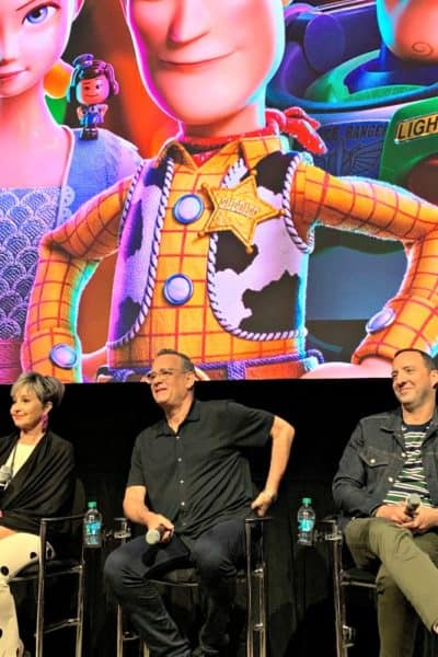 Toy Story 4 hits theaters June 21st, and this Toy Story 4 interview with Tony Hale, Tom Hanks and Annie Potts shares why this film is about transition.
