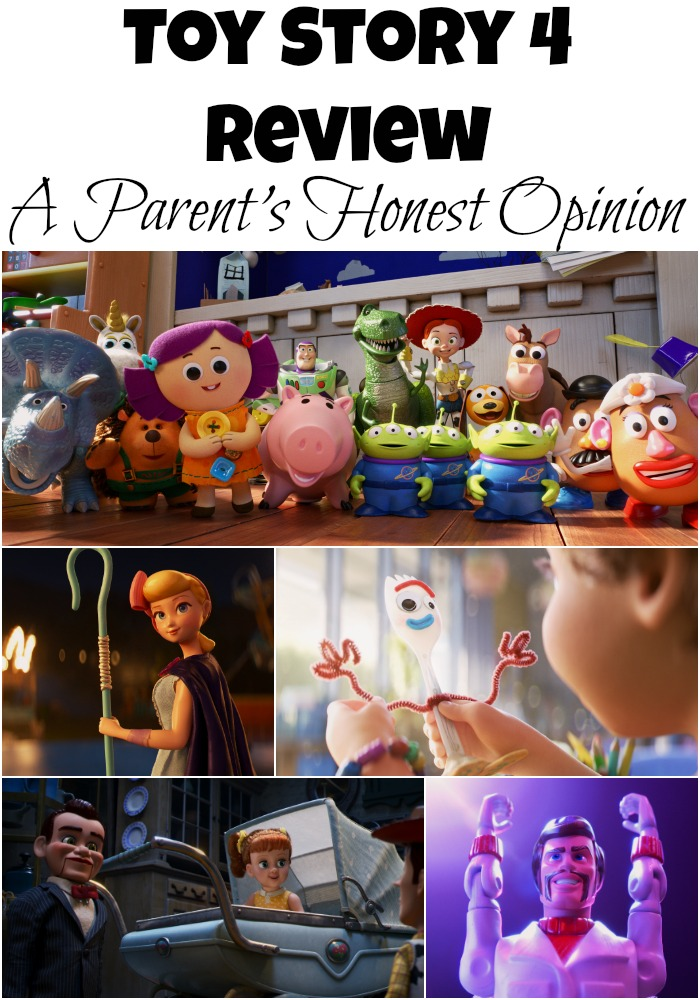 Is Toy Story 4 a film for small kids? You'd be surprised by the answer. Read this Toy Story 4 review from an honest parent of a 4 year old.