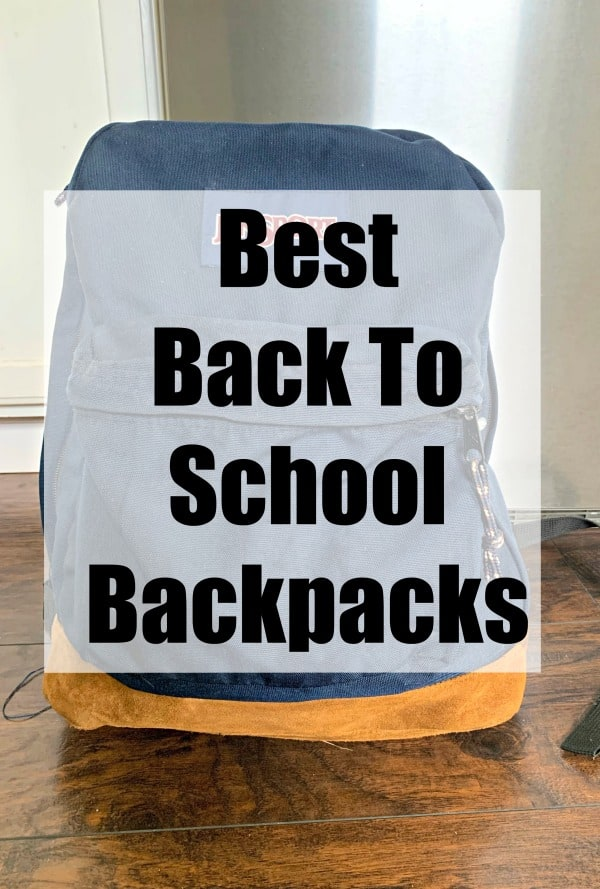 The best back to school backpacks that you'll once and have forever.