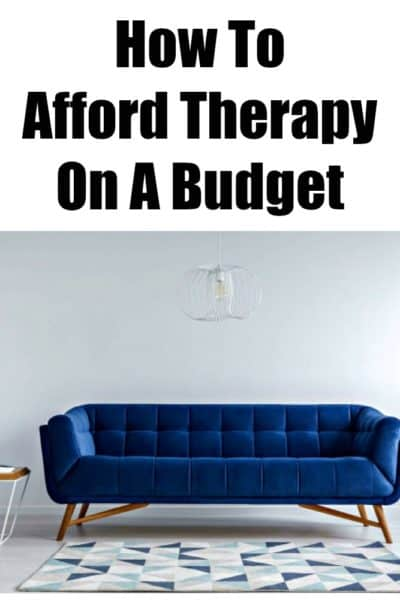 Cheap therapy is a thing, and many if not all of us can afford it. This article shares some options for affordable therapy on a budget.