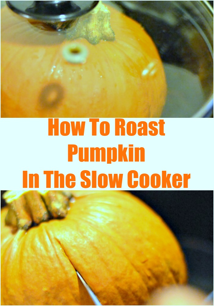 Have you ever roasted small pumpkins in the slow cooker? This post shares an easy slow cooker pumpkin recipe, and why mini pumpkins are awesome.