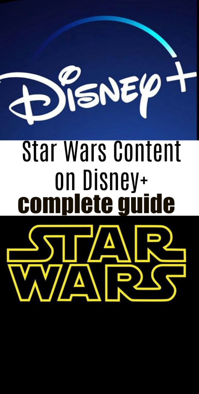 Star Wars and Disney Plus - what a perfect combination! This post shares all the Star Wars content available on Disney+ during launch day.