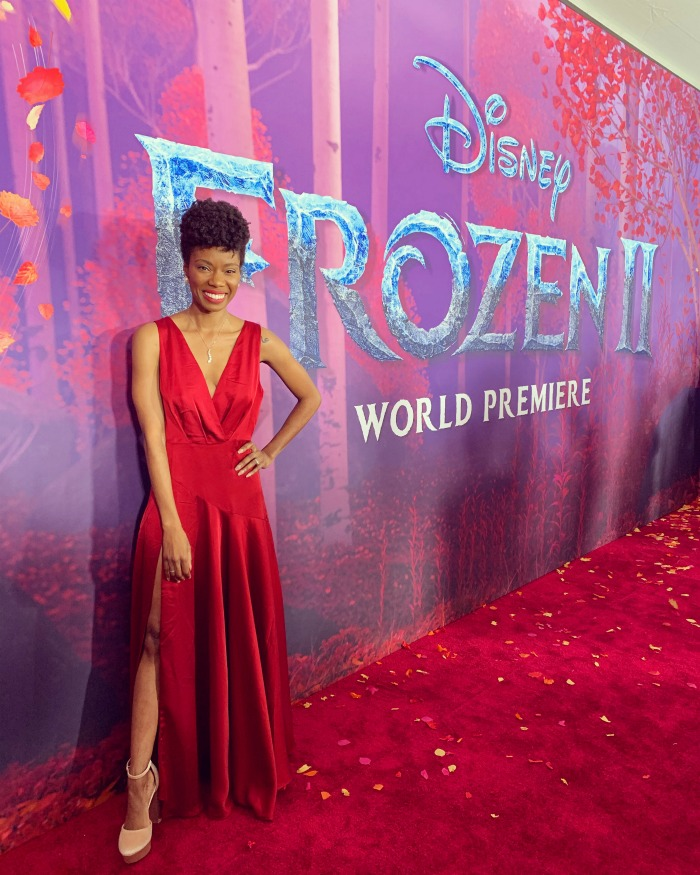 This mom shares her surreal experience on the Frozen 2 red carpet, and how the theme added to the complexity of the Frozen 2 storyline.