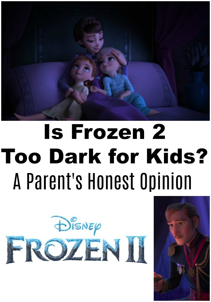 Can small kids watch Frozen 2? This Frozen 2 review for parents shares one mom's honest opinion of the film, and it's semi-heavy storyline.