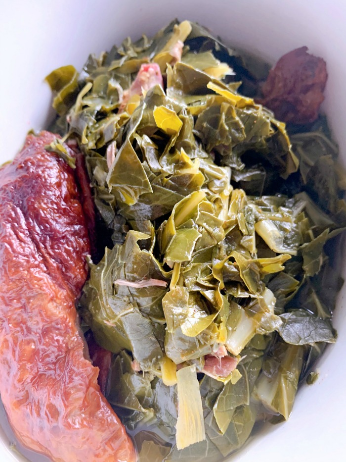 Wait. We can make collard greens in the Instant Pot?! Yes! This easy recipe for Instant Pot collard greens will have them on your table in 45 minutes.