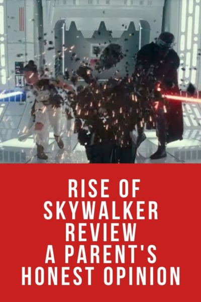 Can small kids take on the most recent journey to a galaxy far, far away? This Rise of Skywalker review for parents gives the opinion of maybe not.