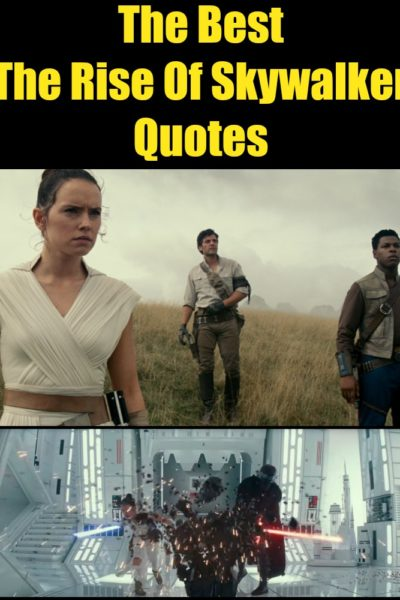 Did you catch these Star Wars: The Rise of Skywalker quotes when you saw the film? Check out the full list of the best Rise of Skywalker movie quotes.