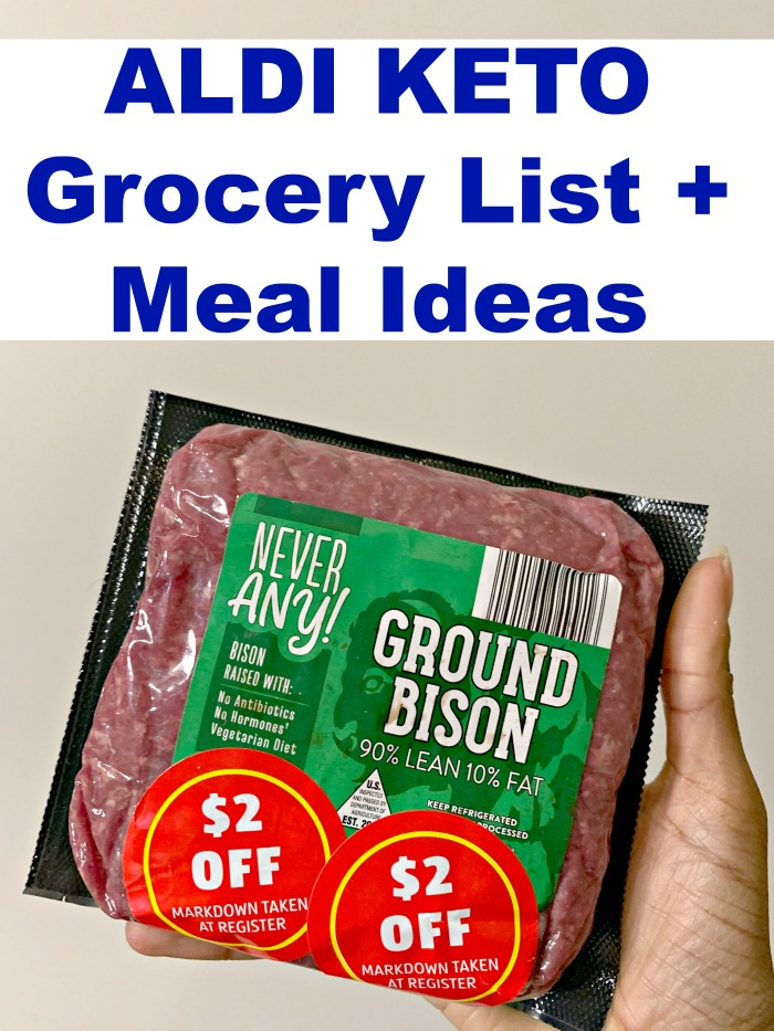 If you're looking to start a KETO lifestyle while on a tight budget, ALDI is the answer. Here is the ultimate ALDI keto grocery list, with meal ideas!