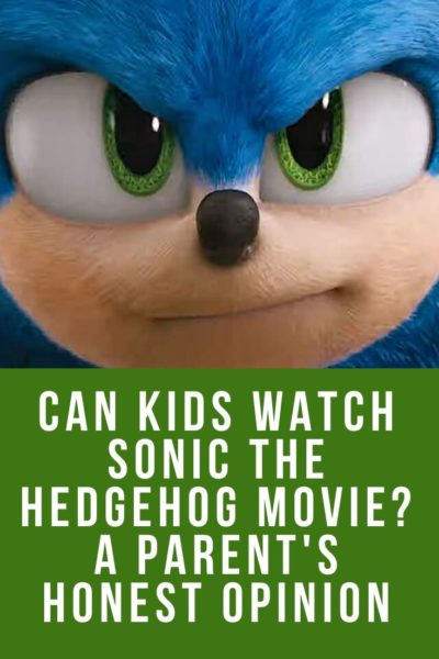 Thinking of taking your small kids to see the live action Sonic The Hedgehog movie? This Sonic movie parent review shares all you need to know.