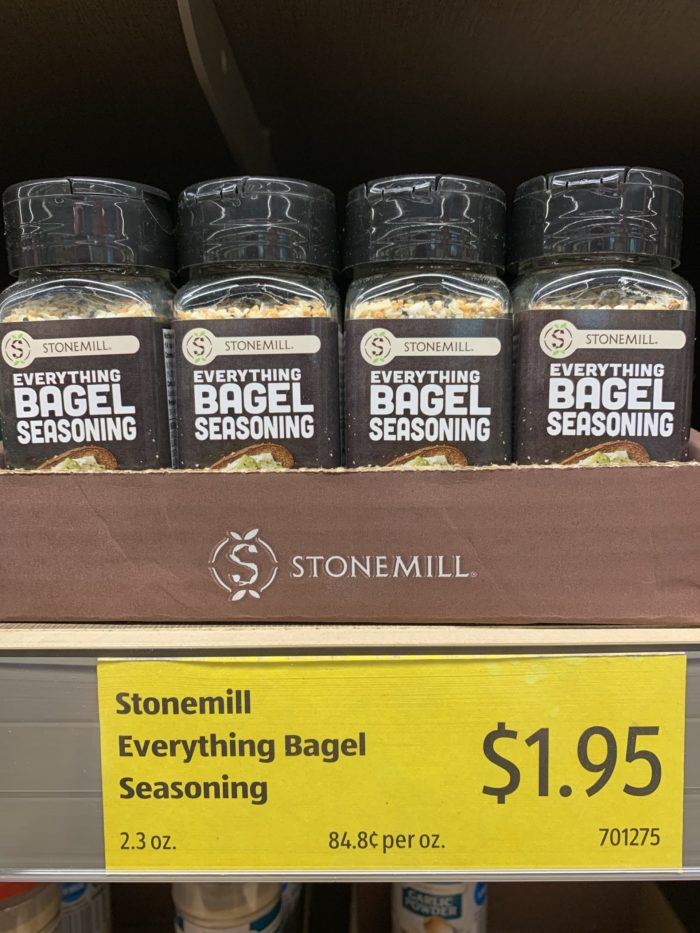 The everything bagel craze is growing! Here are 75 everything bagel seasoning recipe ideas, using ALDI everthing bagel seasoning, or any brand you can find.