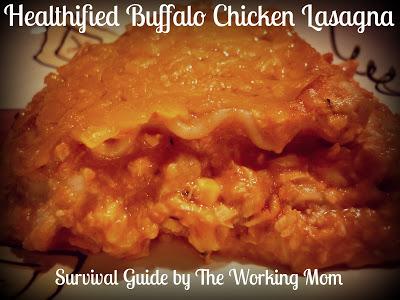 Healthy Buffalo Chicken Lasagna Recipe