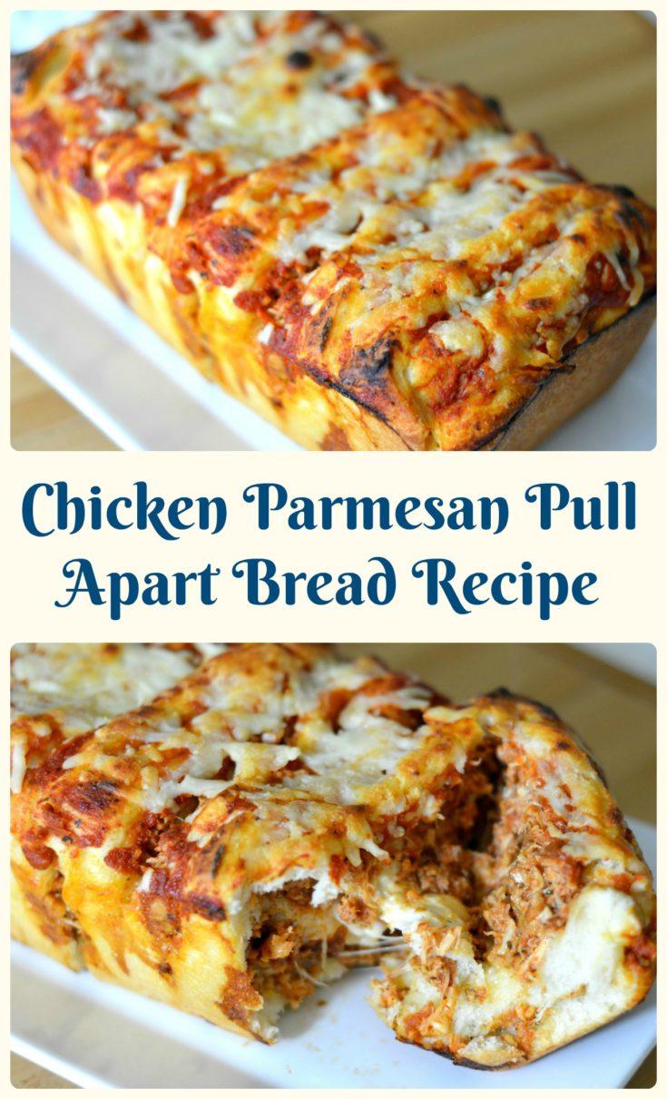 Chicken Parmesan Pull-Apart Bread Recipe