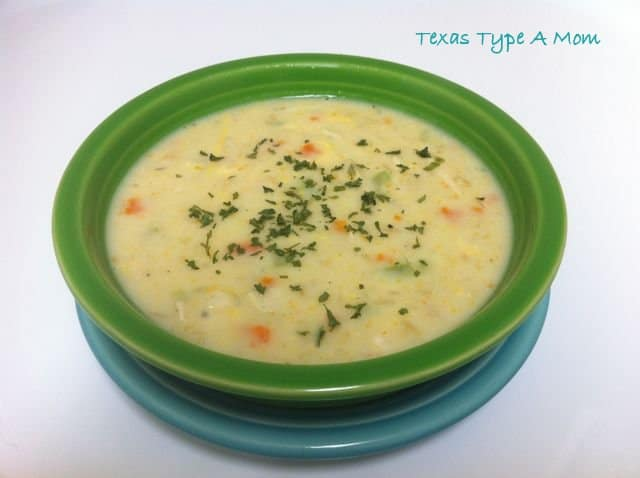 Quick and Easy Homemade Chicken and Rice Soup Recipe