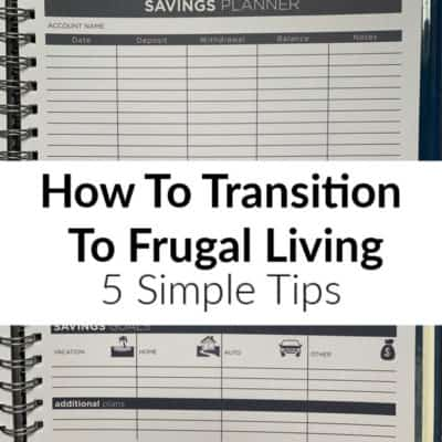 Frugal living doesn't have to be difficult! This post shares some essential frugal living ideas that can help you living a full life on less.
