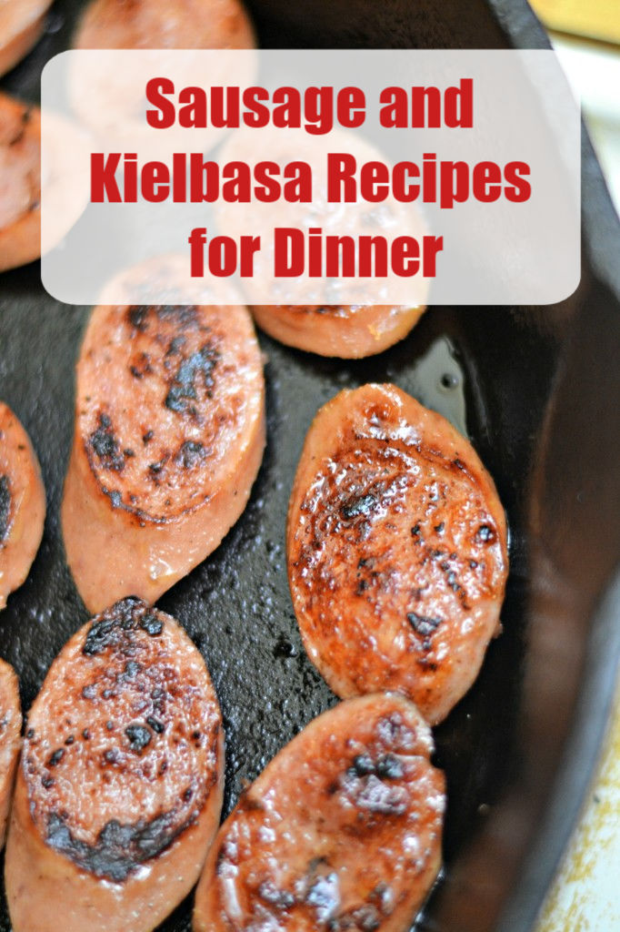 Kielbasa, sausages, and hot dogs make a cheap dinner option when on a tight budget. These sausage, hot dog and kielbasa recipes for dinner are all winners!