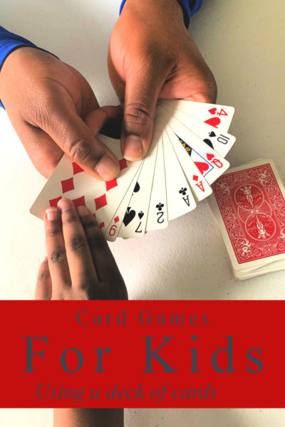Have a deck of cards in your home? This list of card games for kids is for you! Check out the video tutorials for playing card games your kids will love.