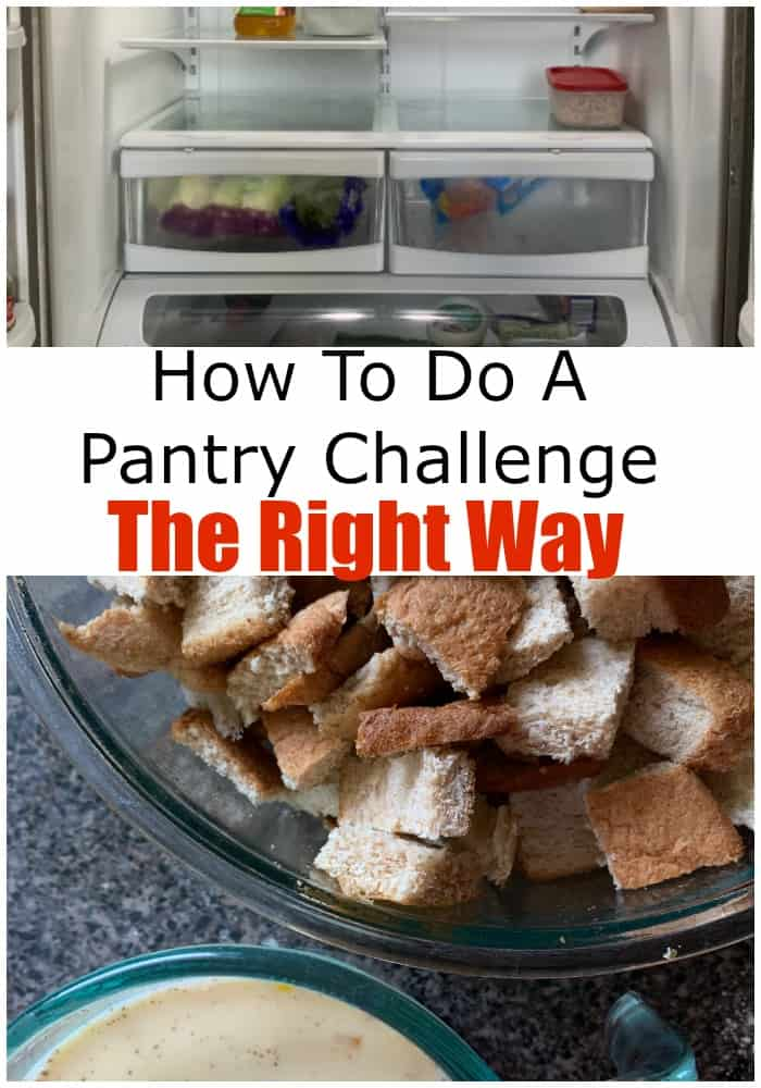 Tried to do a pantry challenge? Did you know there's a right and wrong way to do it? This post shares tips, tricks and hacks you need to rock the challenge.