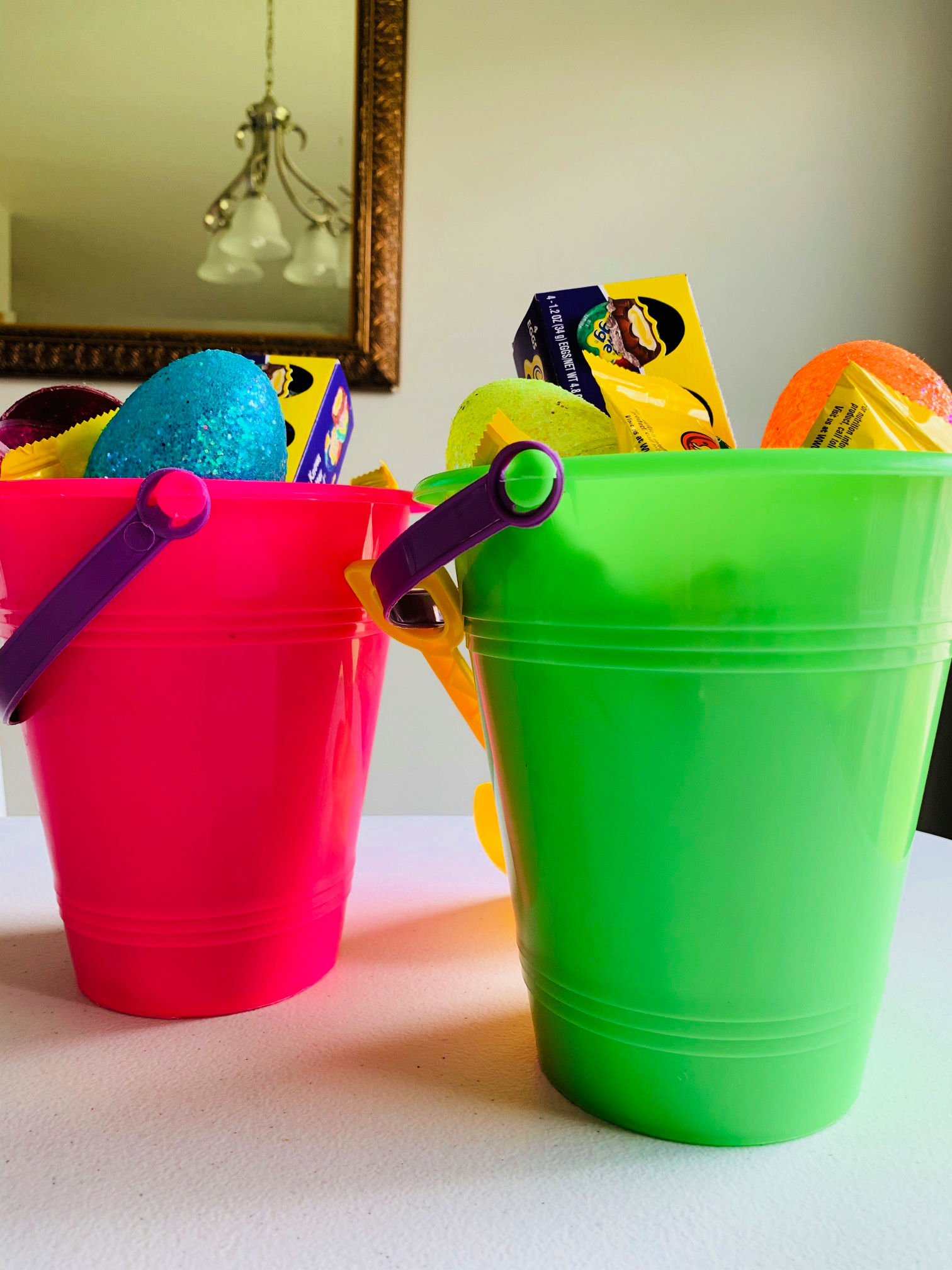 Do you have to celebrate Easter while stuck at home this year? Don't worry! Here are 4 hacks every parent can use right now to make it special.