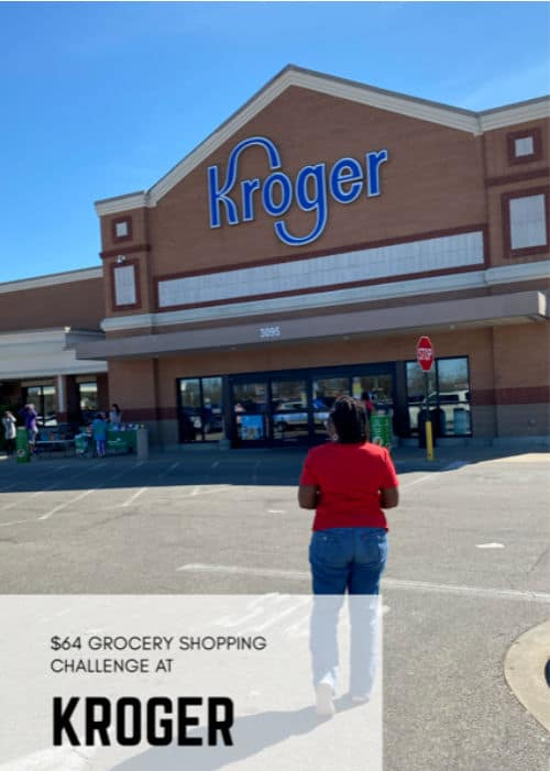 Have you tried grocery shopping at Kroger on a tight budget? This wife and mom took on the $64 grocery budget challenge at Kroger, and learned so much!
