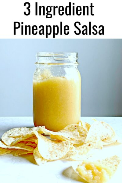 This easy 3 ingredient Instant Pot pineapple salsa recipe is sure to satisfy the spice lover in your life. Be prepared for this hot but delicious salsa!