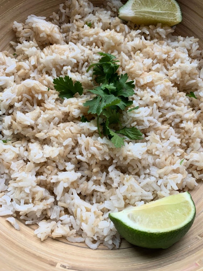 If you love for the cilantro lime rice at your local Mexican restaurant, you have to try this Instant Pot cilantro lime rice! Done in 15 minutes or less!