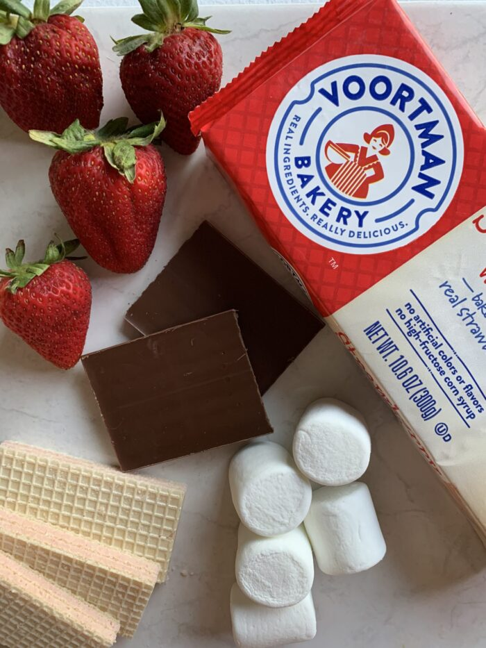 Summer is all about s'mores! This chocolate covered strawberry smores recipe may end up being your family's new favorite. The cookies are the key!