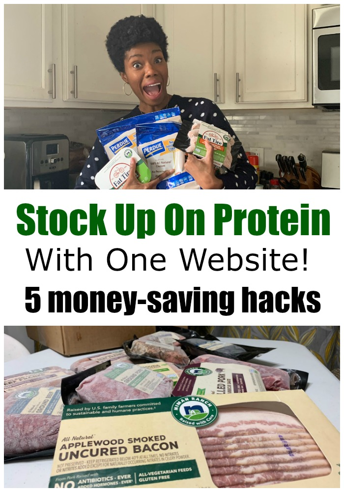 If you are looking for a way to stock up on protein during these interesting times, you can do it with just 1 website!