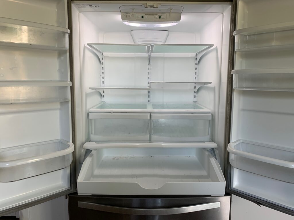 How often to you clean your fridge? Here is a list of 8 things you should clean monthly, but probably don't.