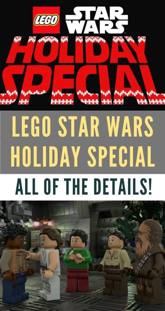 Who doesn't love the combo of LEGO, Star Wars, and the holidays? Check out the details of the Disney+ LEGO Star Wars Holiday Special!