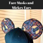 Are you a huge Black Panther fan? These Black Panther face masks and Black Panther Minnie ears are perfect for Wakandans.