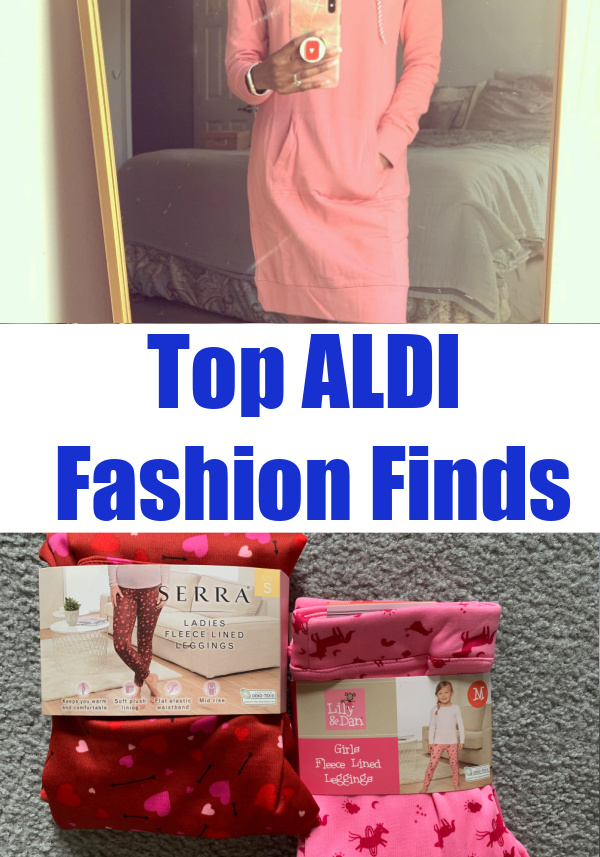 """Have you tried any of these ALDI fashion finds? This post shares some of the best ALDi special buys from that famous """"aisle of shame."""""""